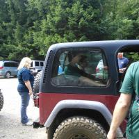 Zach & Logan back from their time on the trails in a Jeep